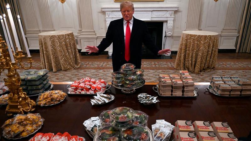 Donald Trump is lovin' it!